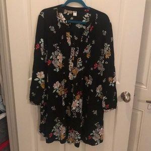 Old Navy Flower Dress - Size XXL